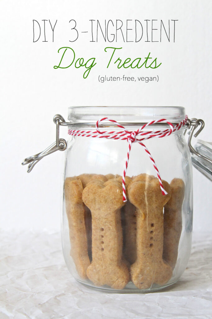 Diy 3 ingredient dog treats gluten free vegan the plant strong vegan title