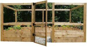 Deer proof just add lumber vegetable garden kit