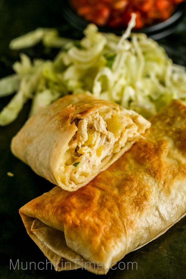 Easy chicken chimichanga recipe