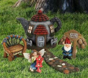 Fairy garden gnome accessories kit