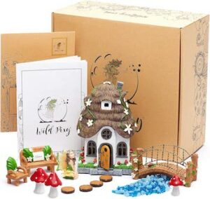 Fairy garden accessories kit