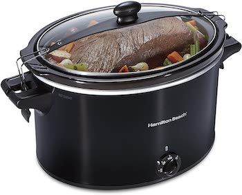 Hamilton beach extra large stay or go slow cooker