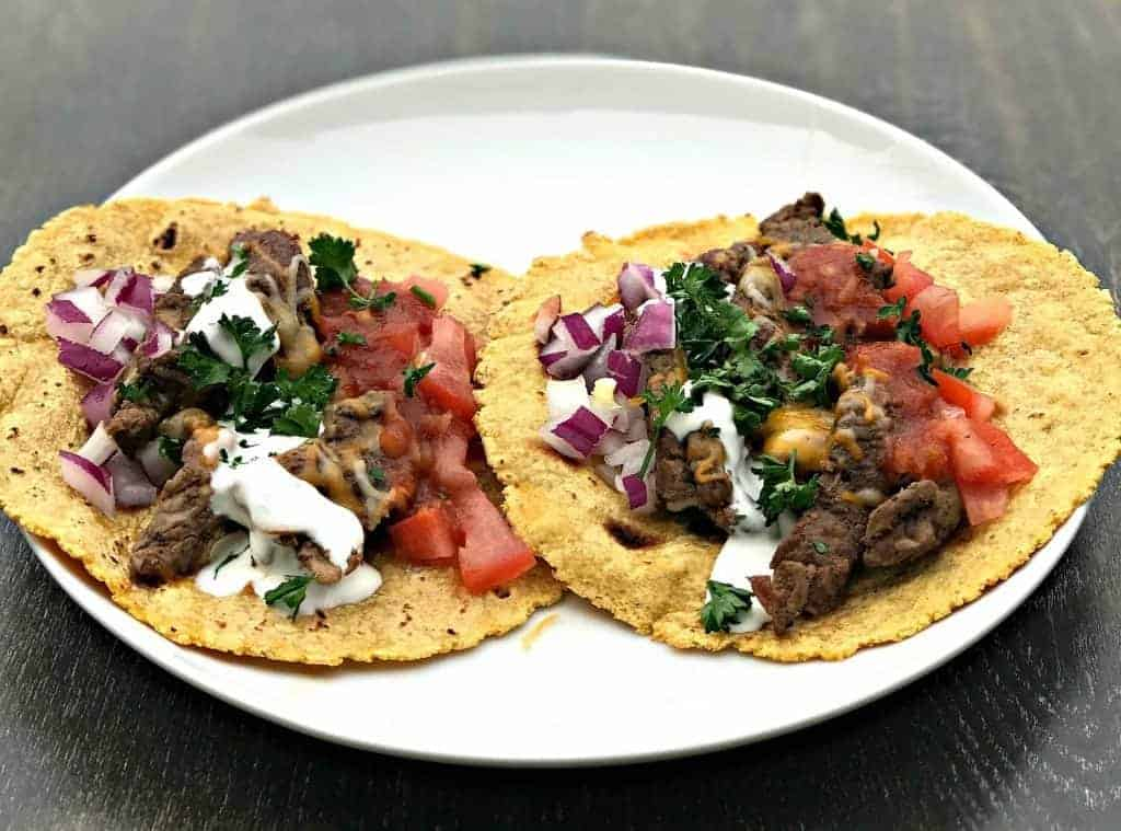 Instant pot 10 minute steak tacos