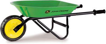 John deere steel wheelbarrow for kids