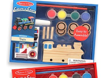 Melissa & doug decorate your own wooden t