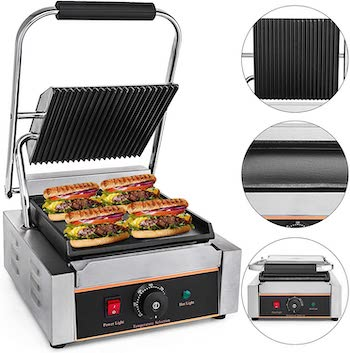 Mophorn sandwich press grill