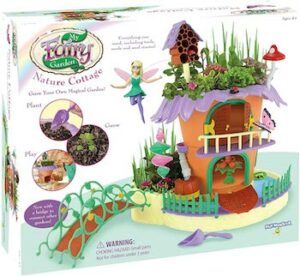 My fairy garden nature cottage grow & play set