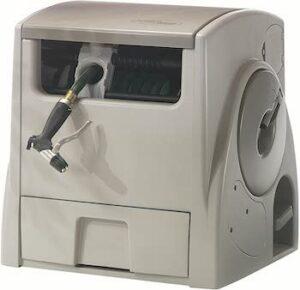 Powerwind 12 v automatic rechargable hose reel