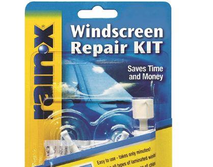Rain x 600001 windshield repair kit