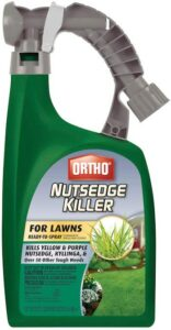Ready to spray nutsedge killer for lawns