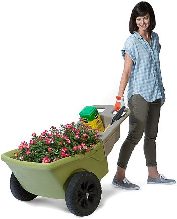 Simplay3 easy haul plastic wheelbarrow