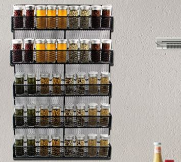 Spice rack organizer kitchen spice storage shelf