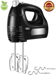 Tibek electric 6 speed ultra power hand mixer