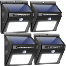 Urpower solar wireless waterproof motion sensor outdoor lights
