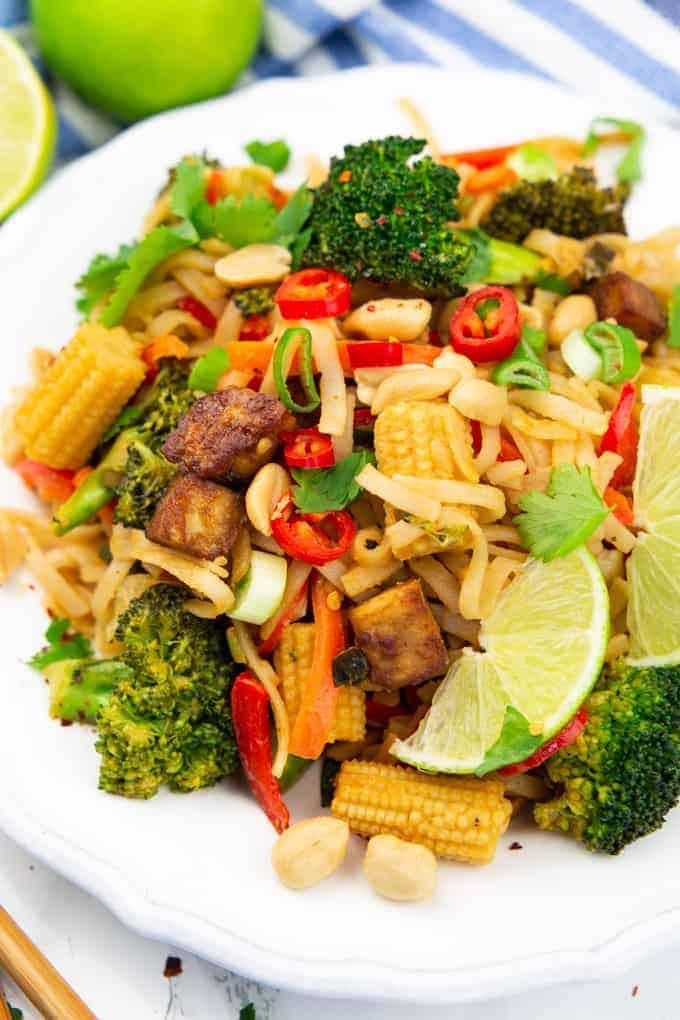 Vegan pad thai 2
