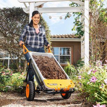Worx wg050 aerocart 8 in 1 all purpose wheelbarrow
