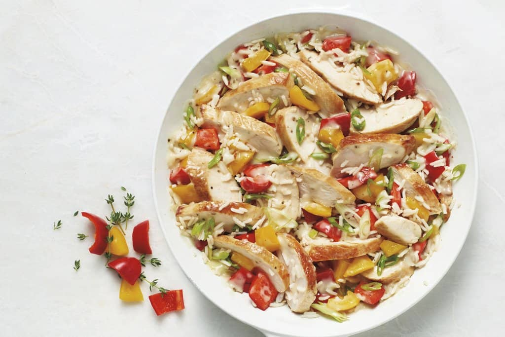 Chicken and rice 30 minute recipe