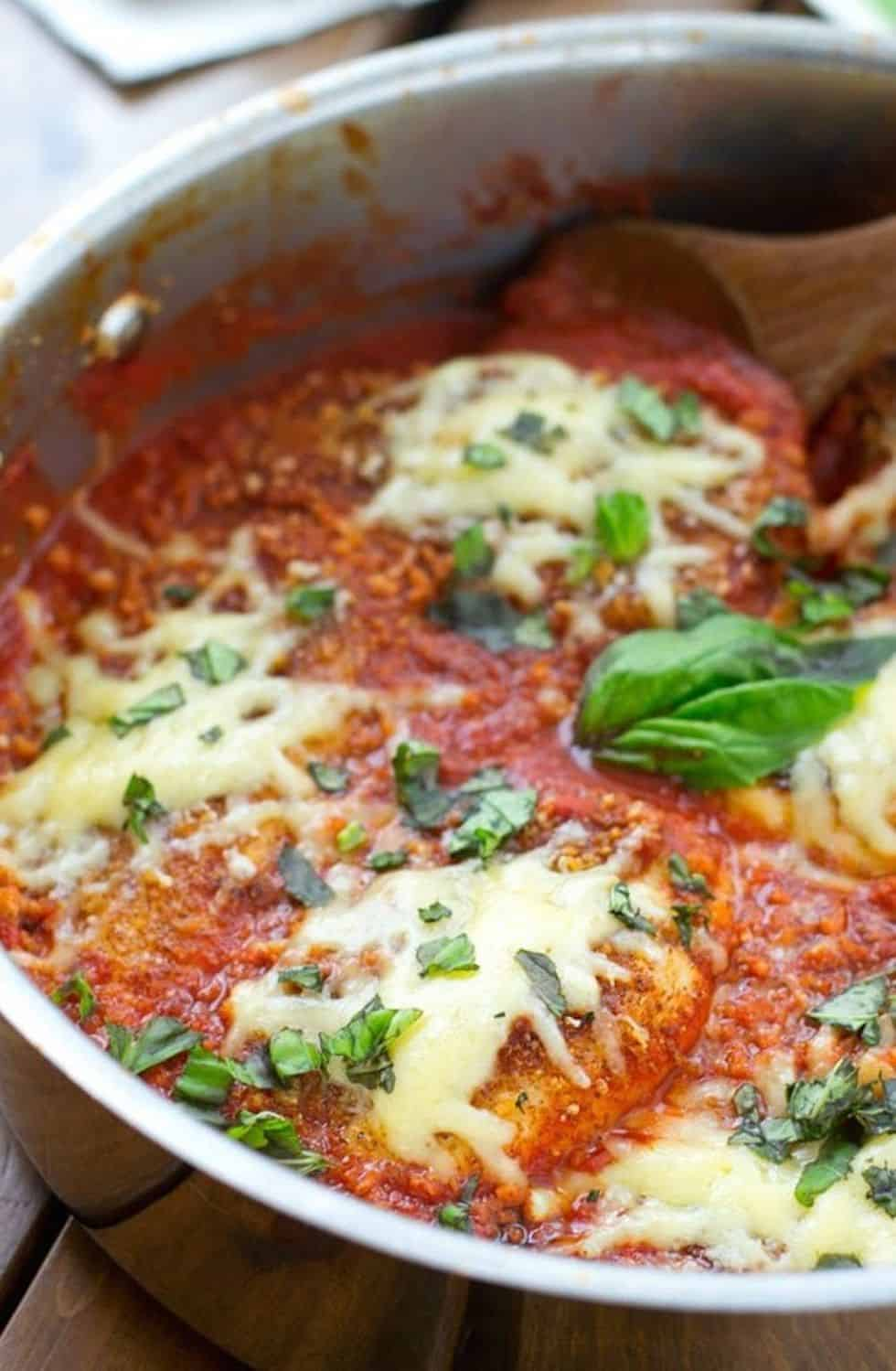 Chicken parmesan recipe 30 minute meal
