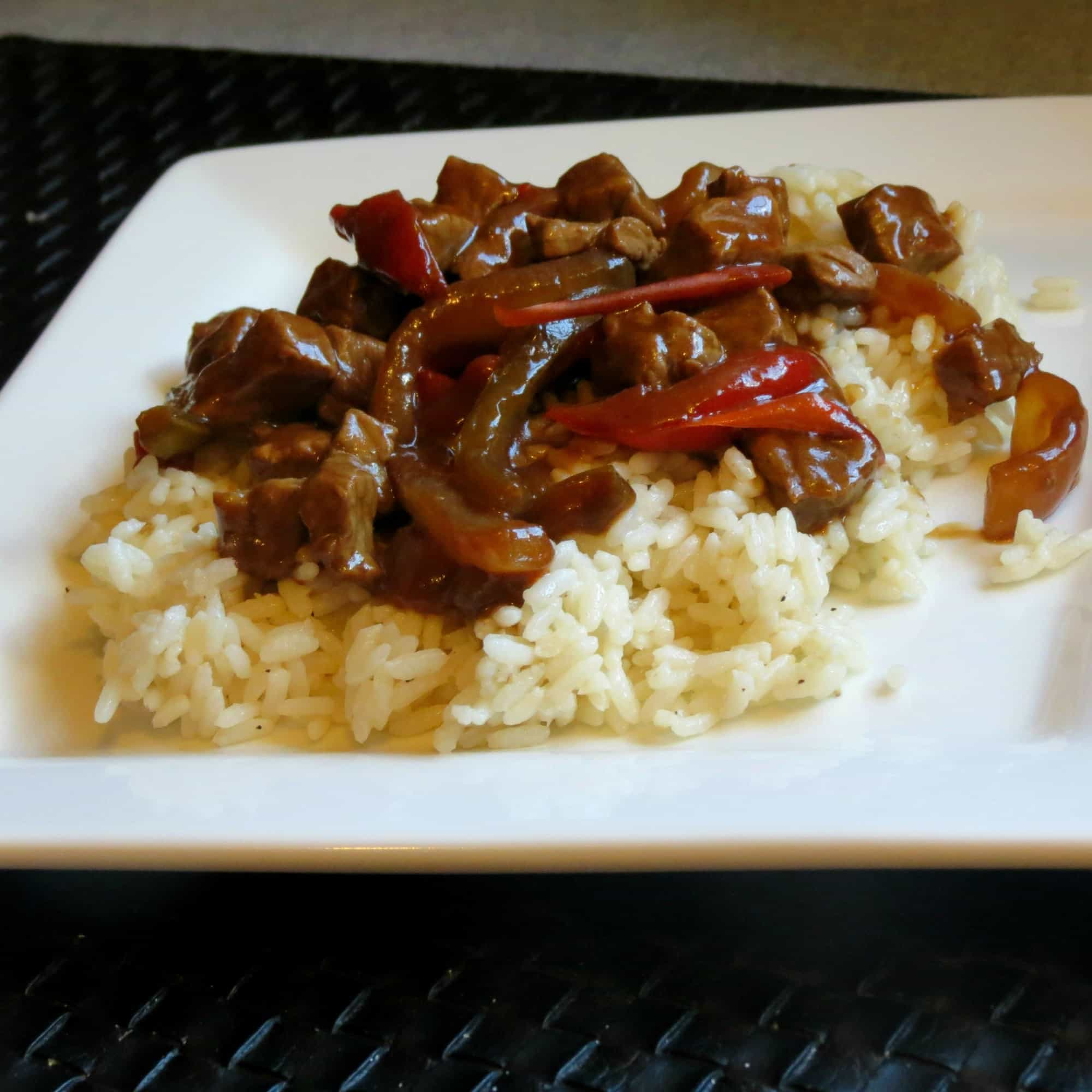 Pepper steak 30 minute recipe