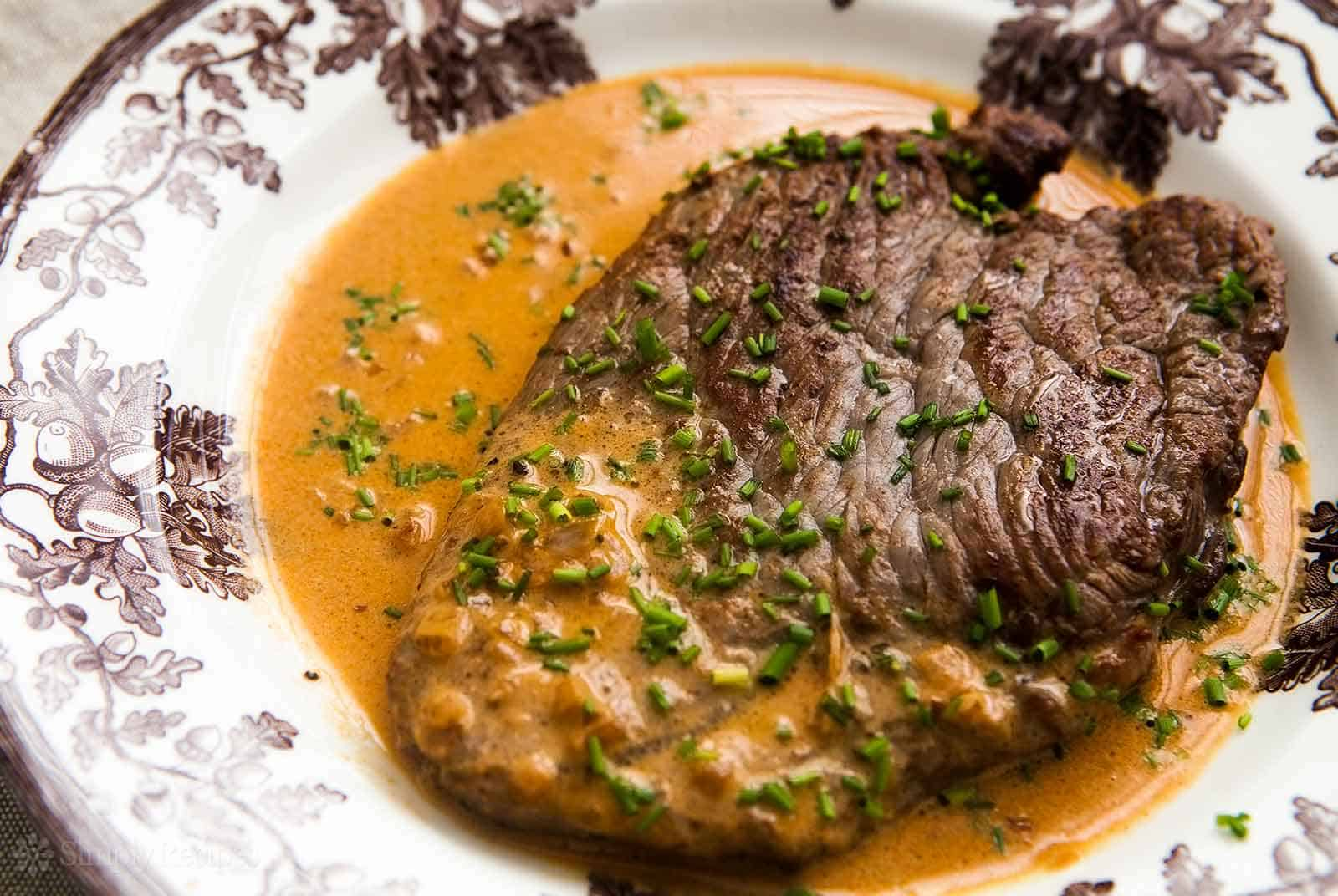 Steak diane 30 min recipe