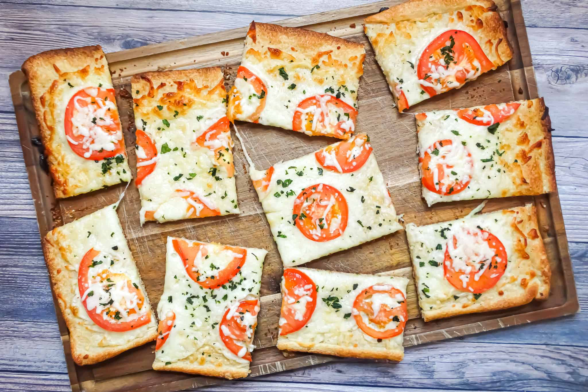 White pizza 30 min recipe