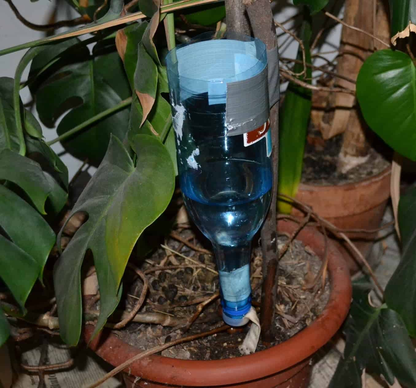 Adjustable diy drip watering system