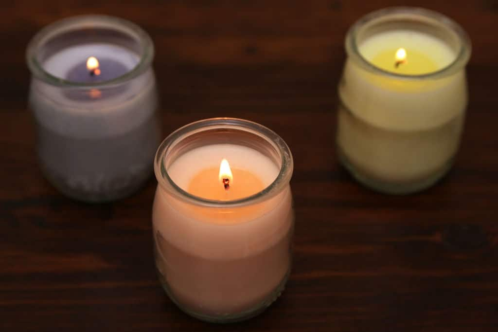 Basic diy candles