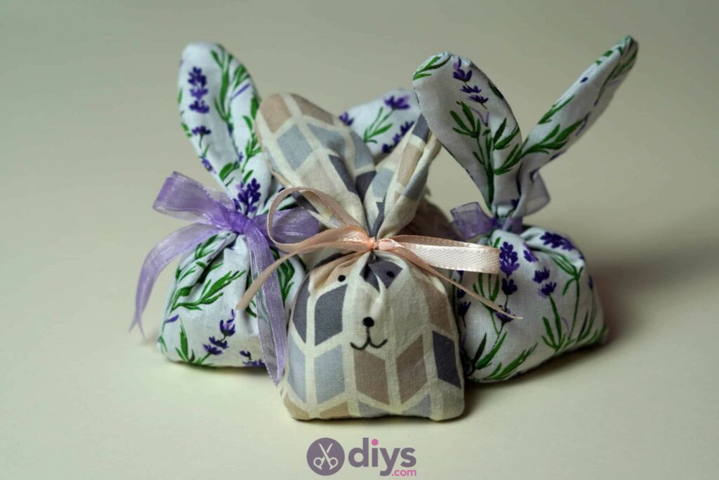 Bunny lavender bags craft