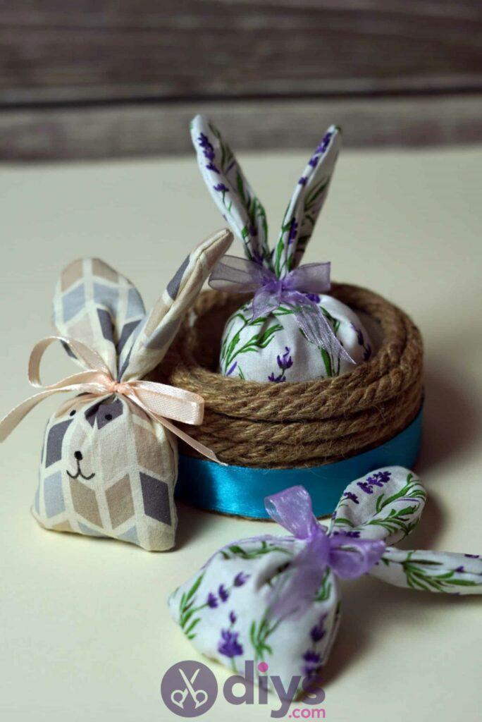 Bunny lavender bags diy
