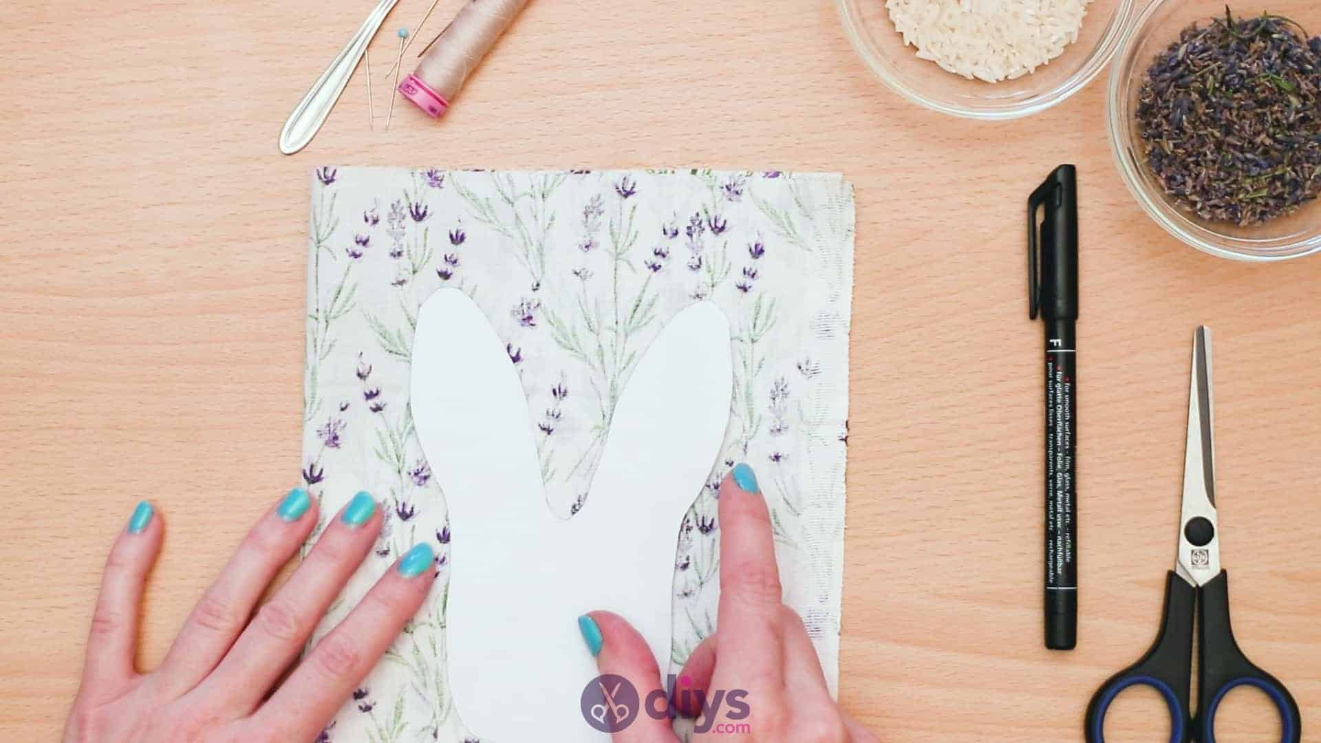 Bunny lavender bags step 3a