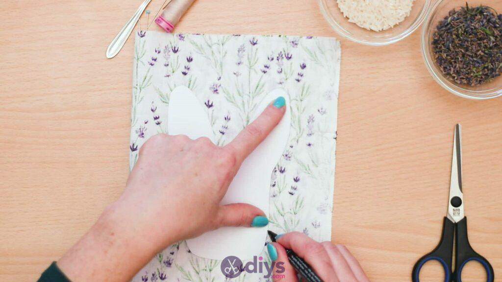 Bunny lavender bags step 3c