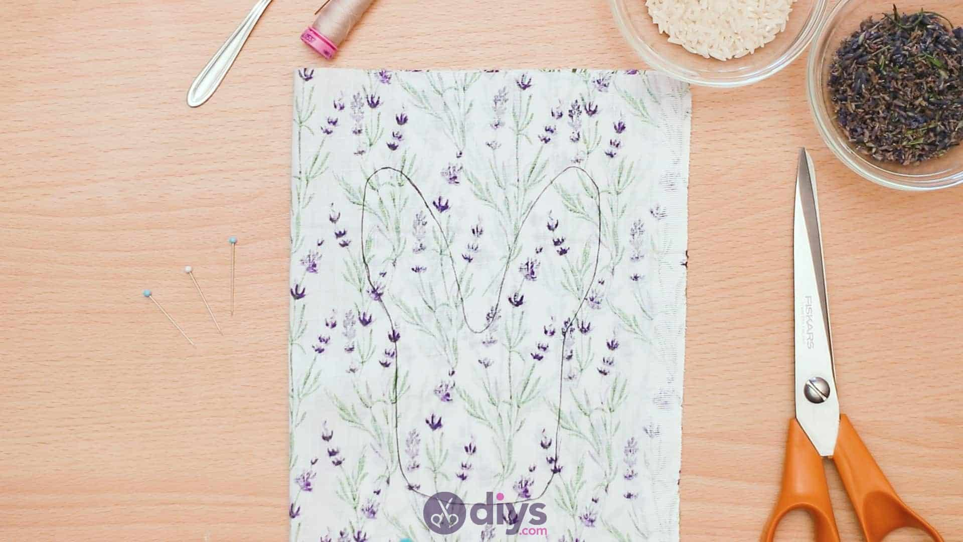 Bunny lavender bags step 3e