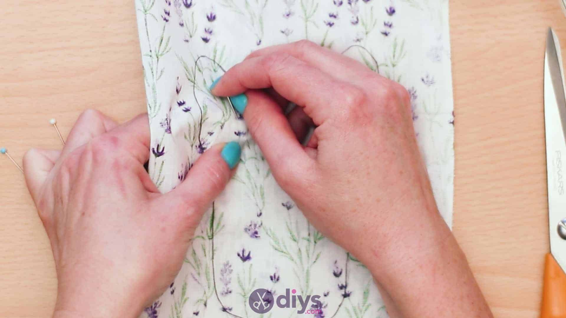 Bunny lavender bags step 4