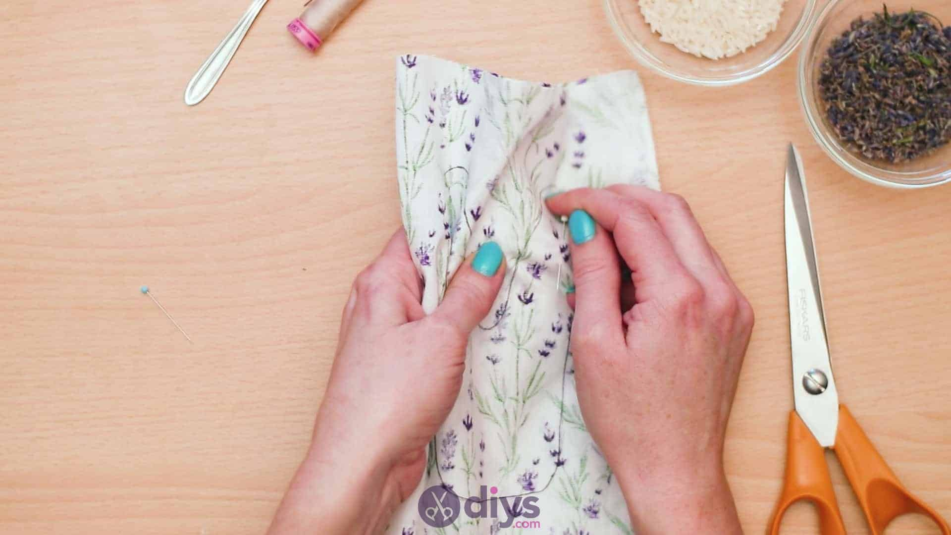 Bunny lavender bags step 4a
