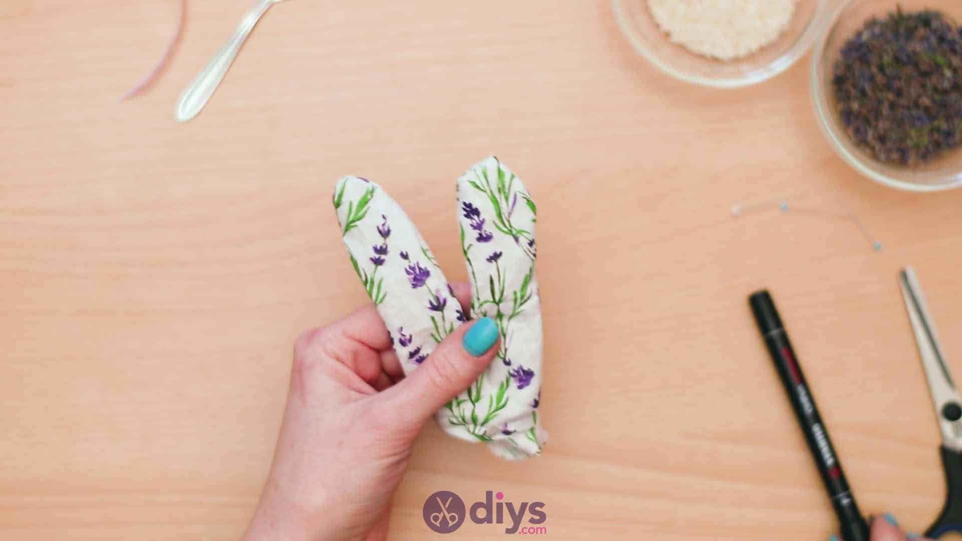 Bunny lavender bags step 6b