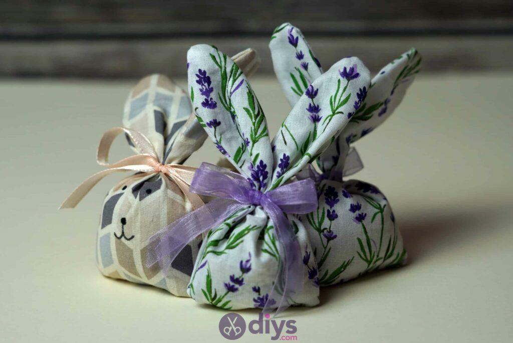 Bunny lavender bags step 9 craft