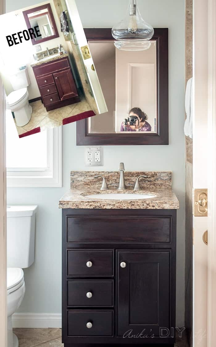 Diy Bathroom Remodel Ideas Easy Transformation