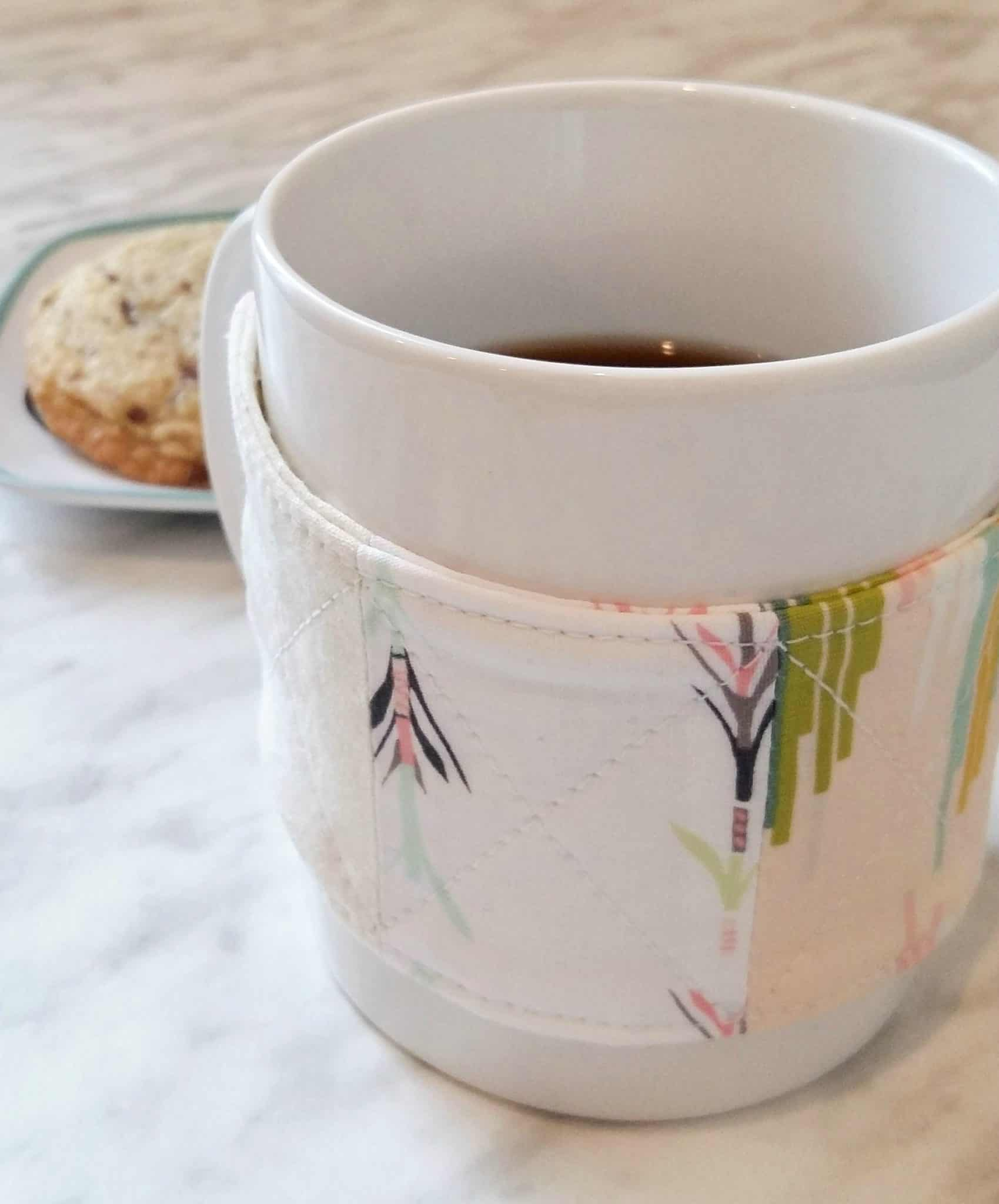 Coffee mug cozy diy