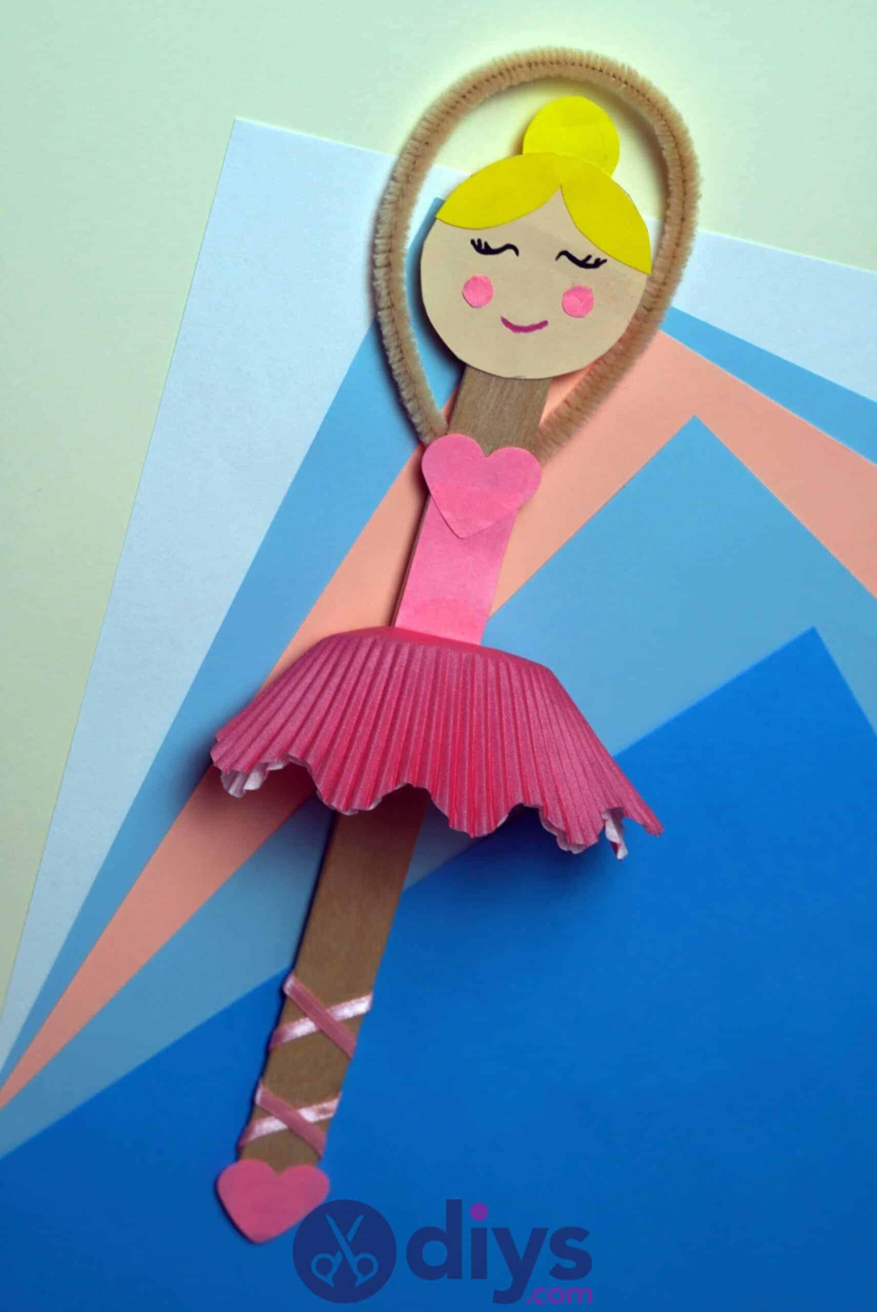 Cupcake liner ballerina