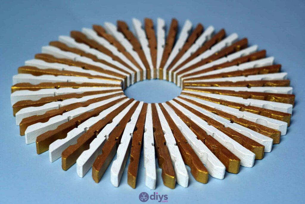 Diy clothespin art project