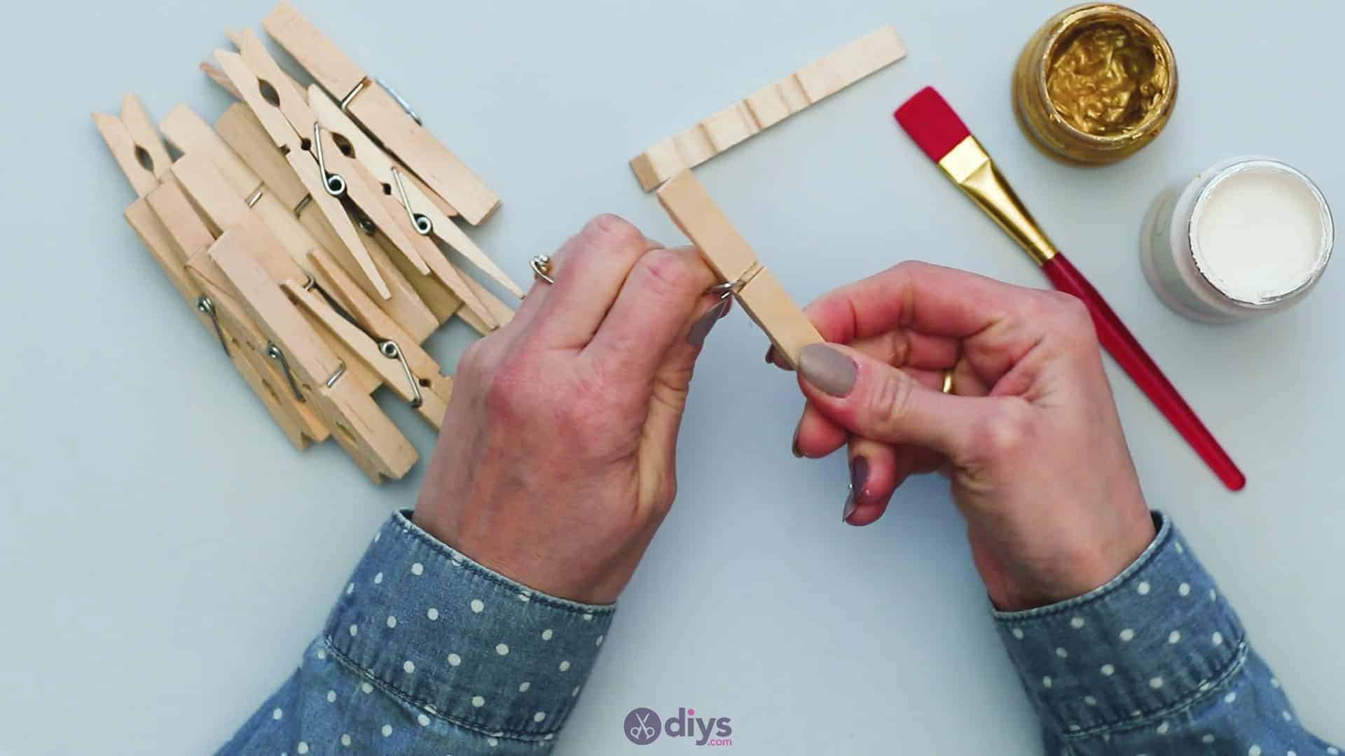 Diy clothespin art step 1b