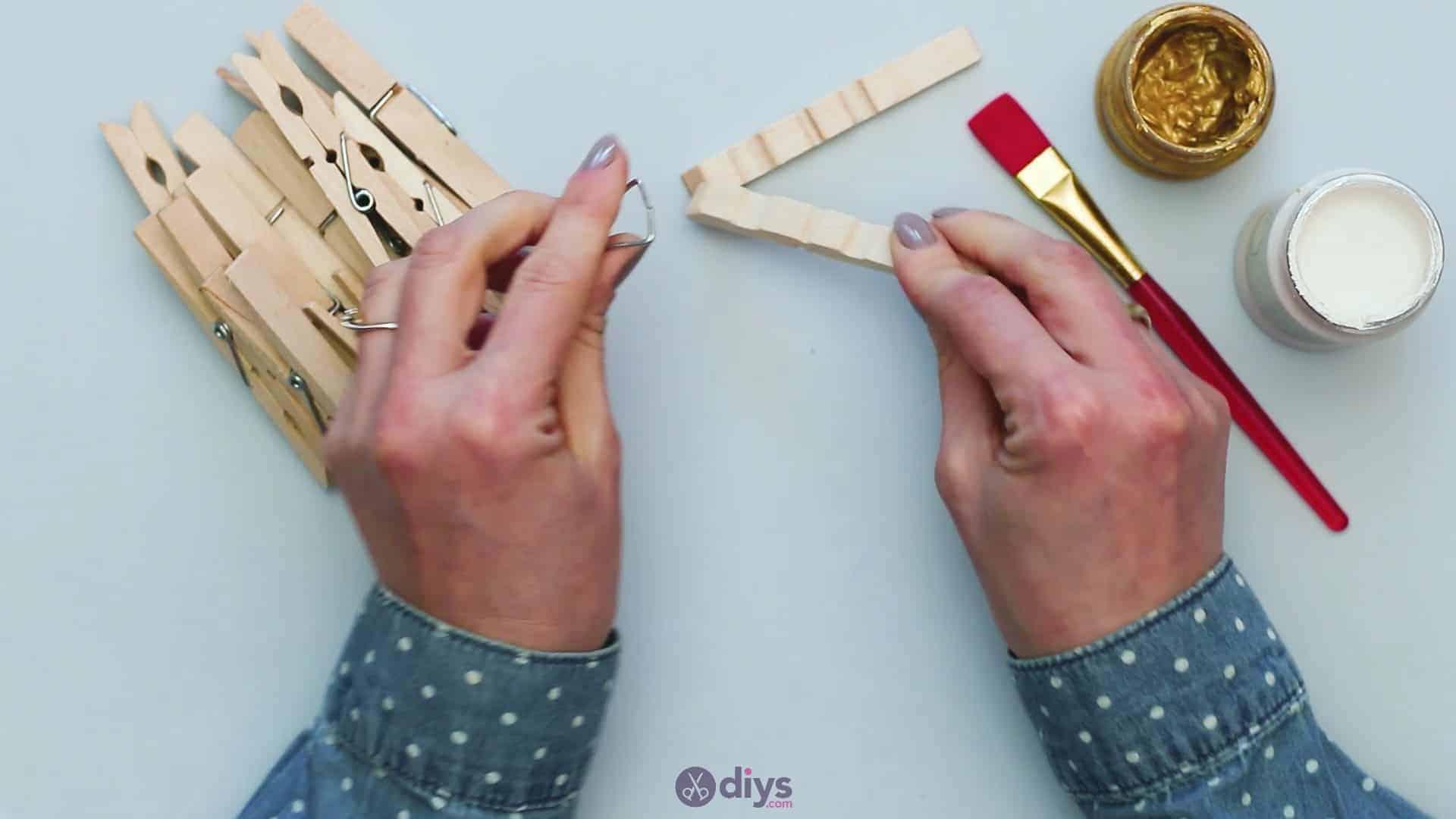 Diy clothespin art step 1c