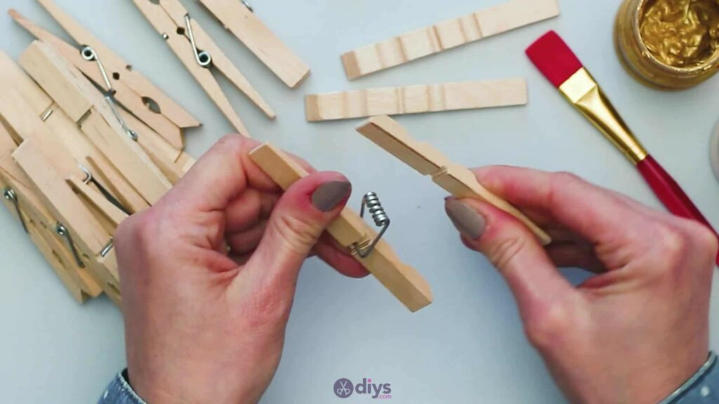 Diy clothespin art step 1d