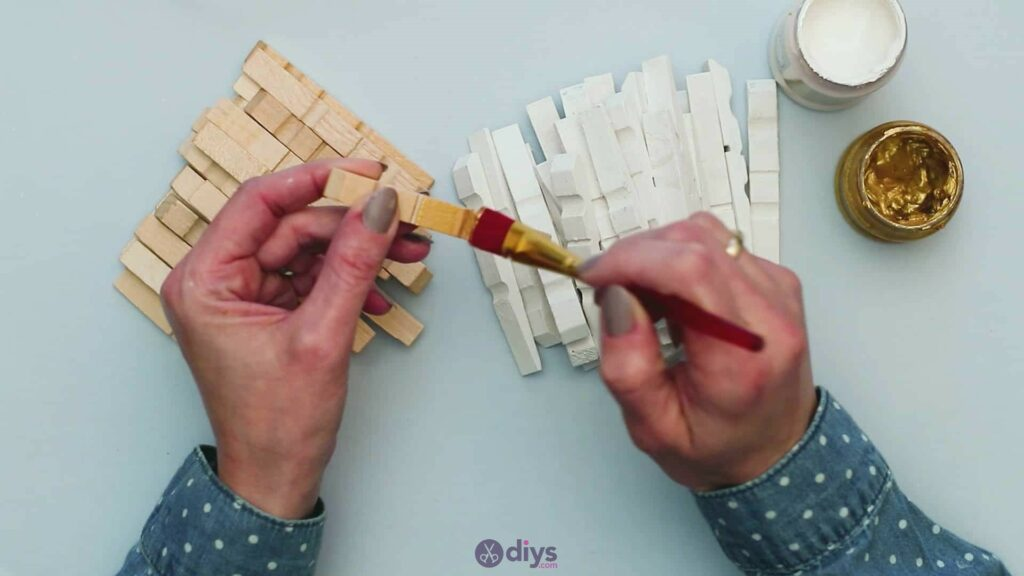 Diy clothespin art step 4a