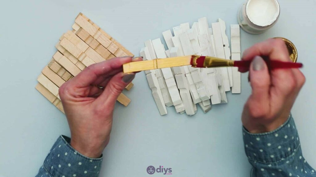 Diy clothespin art step 4c