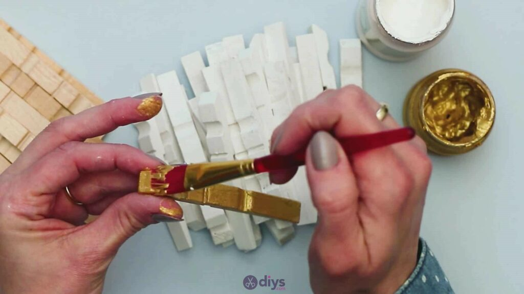 Diy clothespin art step 4d