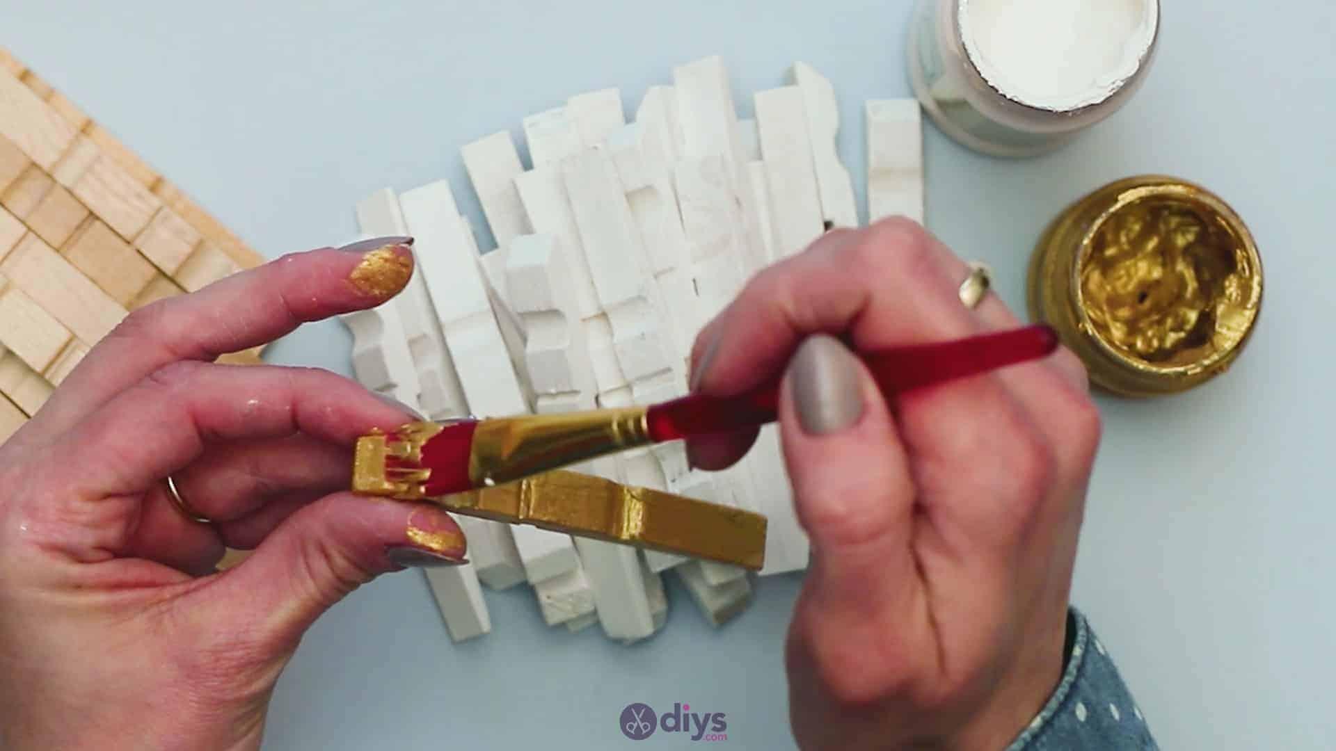 Diy clothespin art step 4d