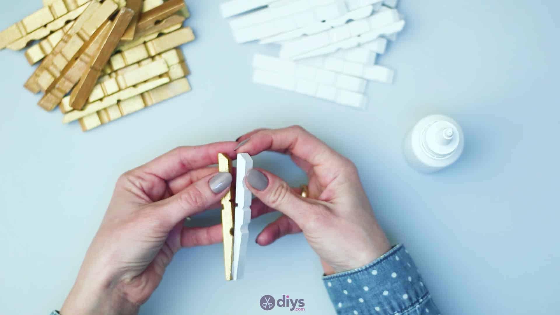 Diy clothespin art step 5a