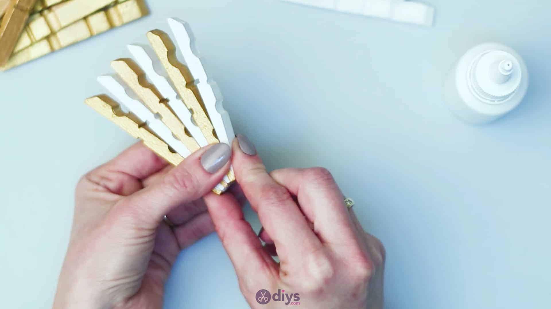 Diy clothespin art step 5g