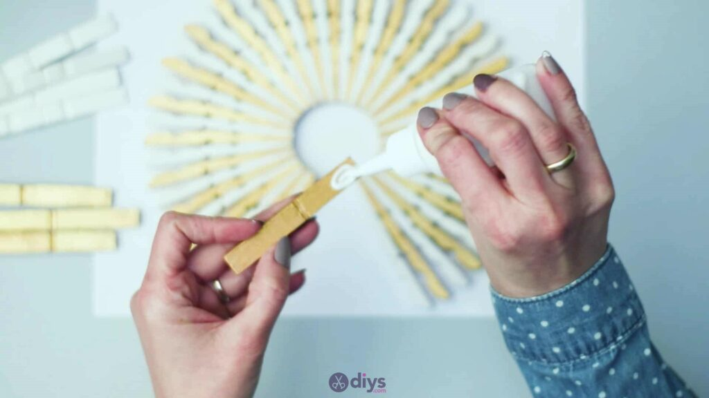 Diy clothespin art step 5h